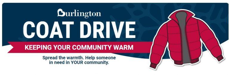 Burlington Coat Drive Logo