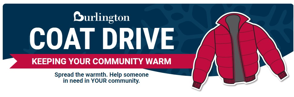 2019-2020 Warm Coats Warm Hearts Burlington Coat Drive