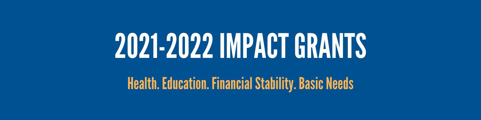 Letter of Interest - Impact Grant