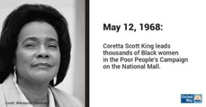 Black HIstory Month- Coretta Scott King