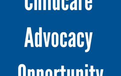 Childcare Advocacy